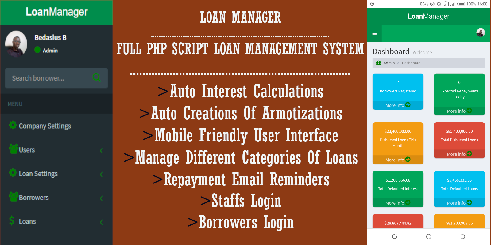Loan Manager-PHP Loan Management System