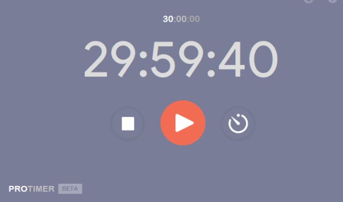 ProTimer Minimalist Countdown Timer
