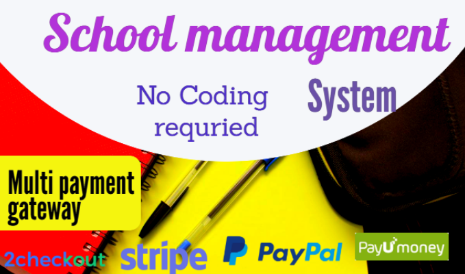 Smart School School Management System with admin panel