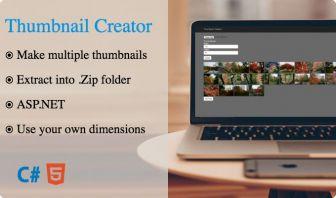 Thumbnail creator - ASP.NET