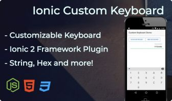 Ionic Custom Keyboard