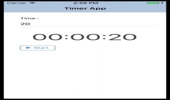 Ionic 2  Timer Component