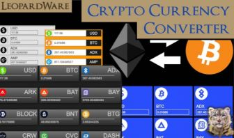 Cryptocurrency Converter