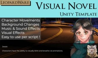 Visual Novel template for Unity