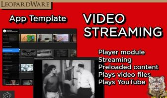Video Streaming App - Template