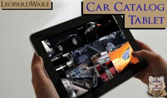Car Item Catalog Layout