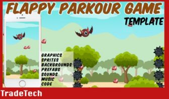 Flappy Parkour Game - Unity Template