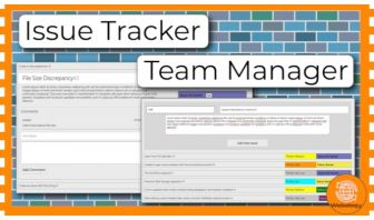 Issue Tracker / Team Manager - Web Template