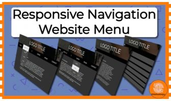 Responsive Website Navigation Menu