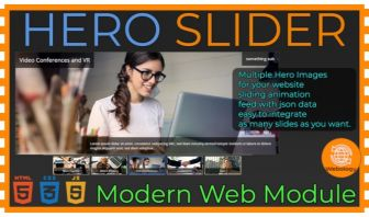 Hero Slider - Web Module