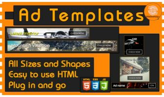 Ad Templates - All Sizes
