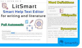 Smart Text Editor - INTELLIGENT HELPER