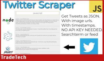 Twitter Scraper - Feb 2019