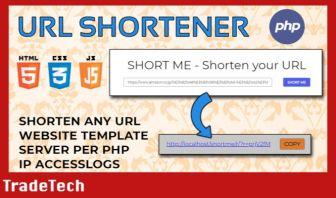 SHORT ME - URL shortener template
