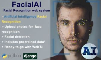 AI Facial Recognition web system