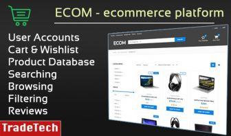 ECOM - Ecommerce web platform
