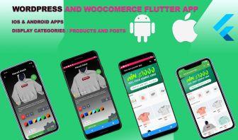 Flutter APP For Wordpress & WooCommerce