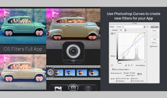 iOS Filters Camera App Universal with AdMob Banner