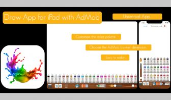 DRAW App Universal with AdMob banner