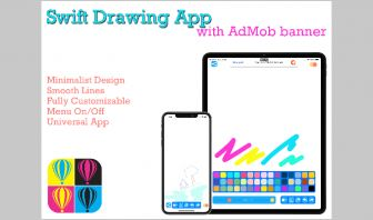 Swift Drawing App with AdMob banner