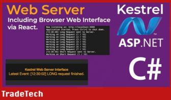C# ASP.NET Core Kestrel Web Server