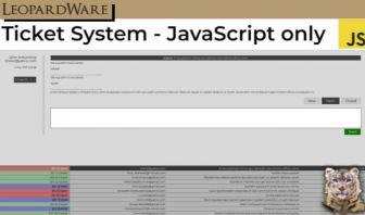Ticket System - JavaScript Version