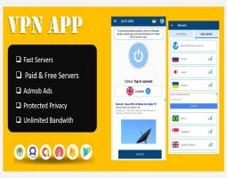 Master vpn app with admob & in-app purchase system,battery saver,cpu cooler