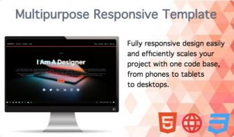WEBSITE Multipurpose and Responsive HTML5 CSS Website Template
