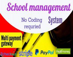 Smart School School Management System with admin panel