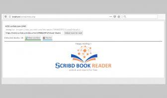 Scribd books reader and unlocker